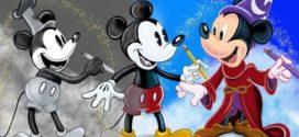 Los 9 mejores video juegos de Mickey Mouse